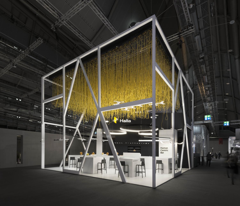 Halla 2018 exhibition stall