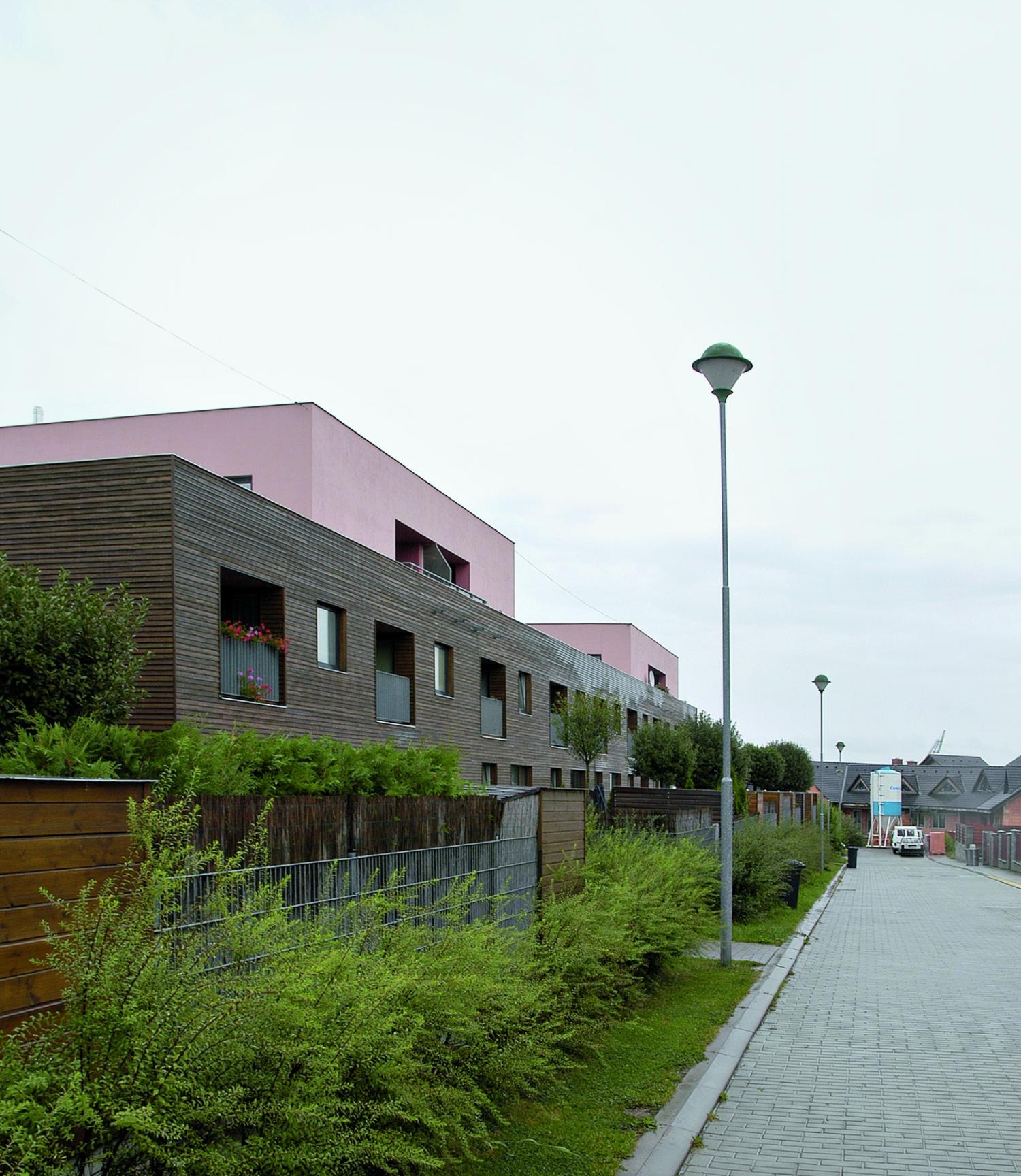Residential complex Jihlava, Na dolech Str.