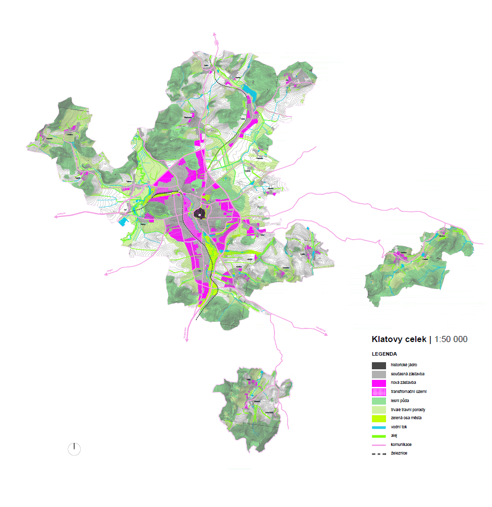 Klatovy - land-use plan
