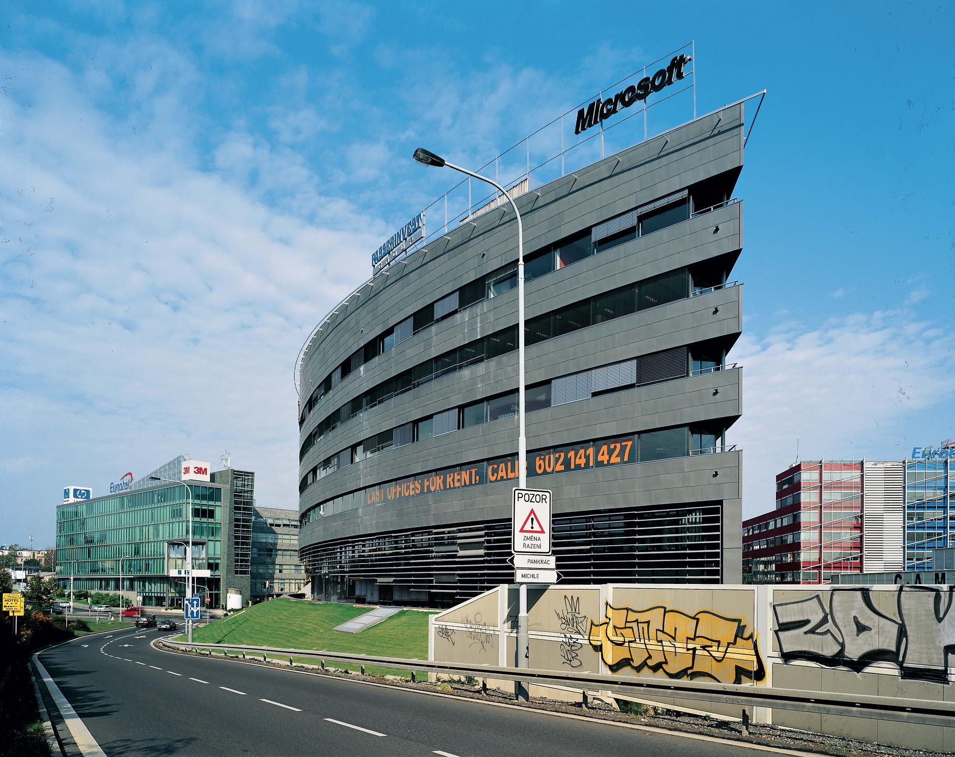 Microsoft Office Building With Bb Centrum u2013 Alpha Microsoft Office Building Aulk Fier Architekti