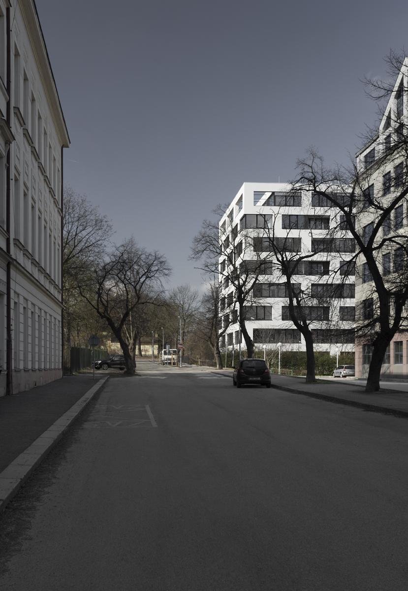 Bytový dům Bulovka – ulice Na Korábě