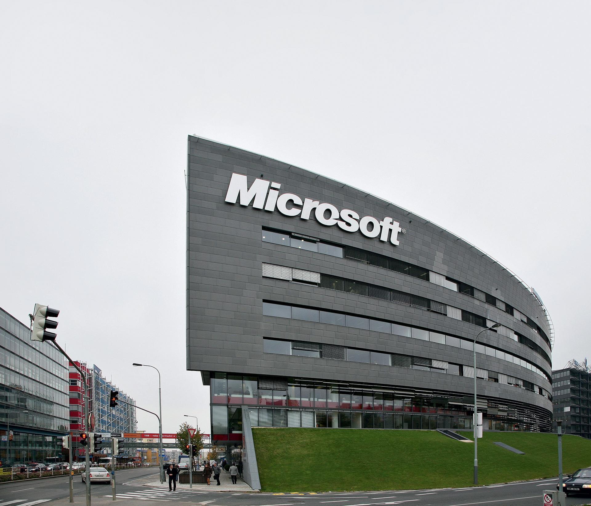 BB Centrum Objekt Alpha Microsoft